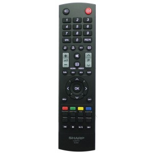 (Use IR-2824G) Original Remote Control SHARP GJ220 705TXESBQ0100X